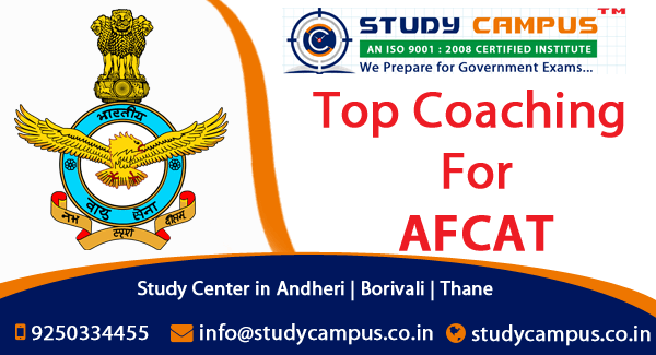 AFCAT Coaching in Borivali