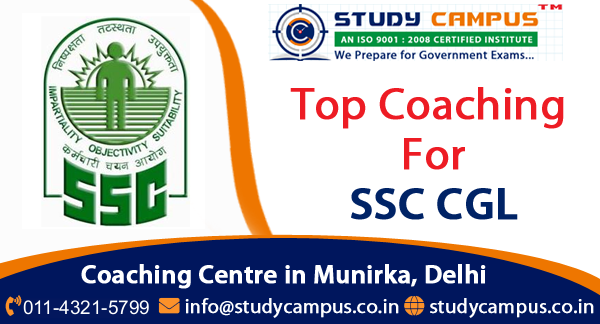 SSC CGL Coaching in Munirka, Delhi